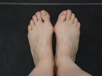 Les pieds d'Isabelle