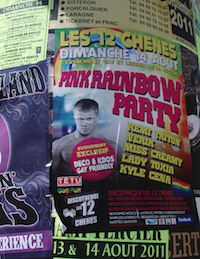 Pink rainbow party