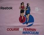 Tee-shirt courir au féminin masculin