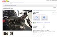 Annonce vente de ma moto