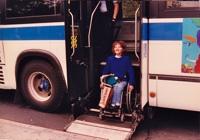 Pascale dans un bus comme elle aime… à New York !