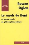 """""""Le Rasoir de Kant et autres essais de philosophie pratique"""""""