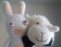 mariage Petit Mouton Lapin crétin