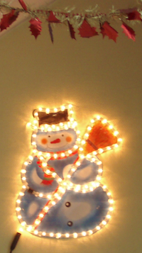 Hall à Noël