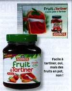 Fruit à tartiner