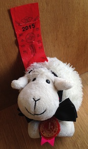 Blog Petit Mouton et sa médaille
