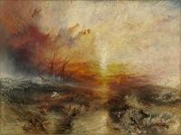 Le négrier, Turner, 1840, musée de Beaux Arts de Boston.