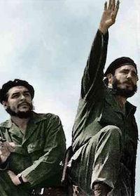 Fidel Castro (à droite) et Che Guevara photographiés par Alberto Korda en 1961. [Wikipedia]