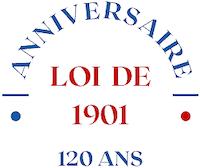 Logo la loi de 1901 a 120 ans