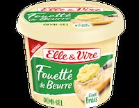 Un pot de Fouetté de beurre